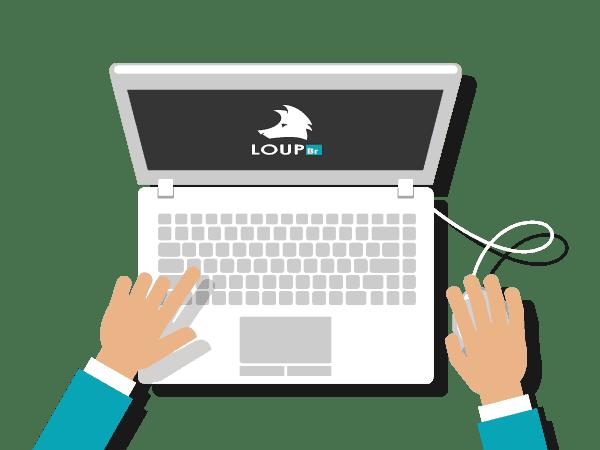 Start do serviço de criação de sites