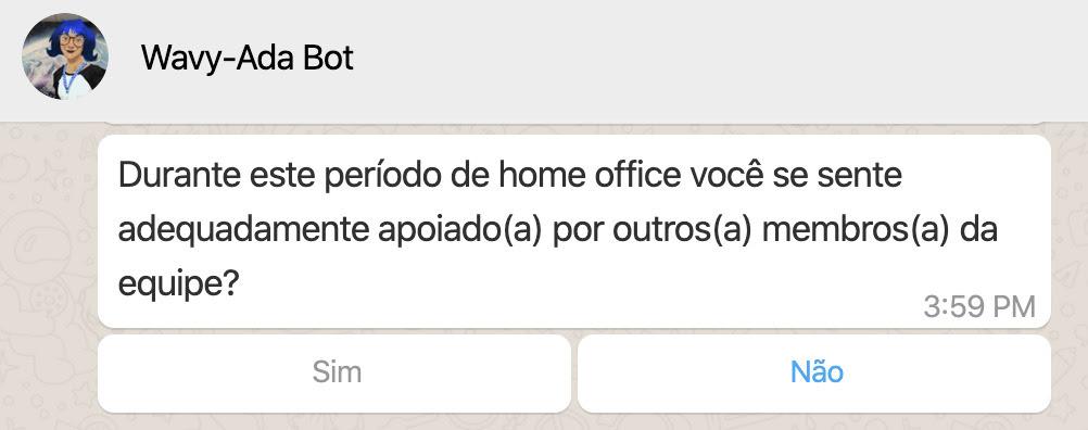 O Whatsapp lançou uma novidade para as contas comerciais que usam os bots, no aplicativo