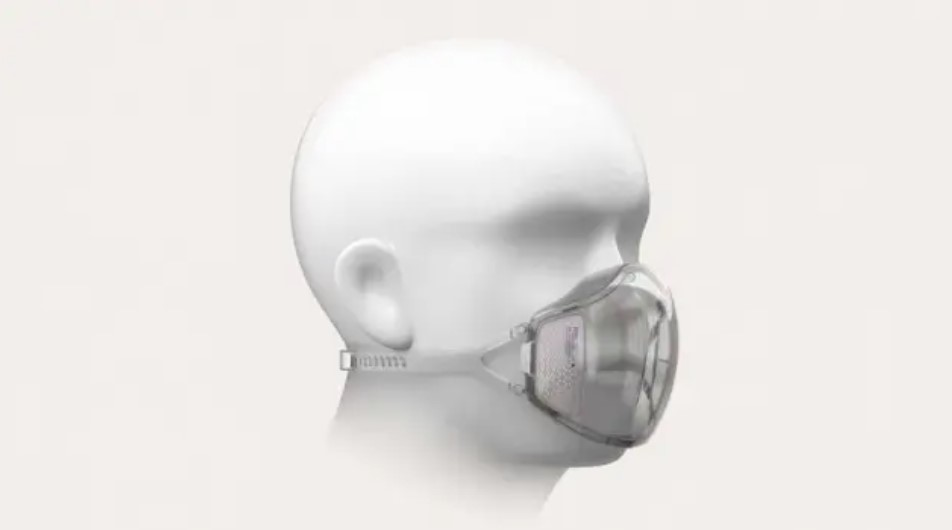 """Em tempos de pandemia de Covid-19, a Xiomi está criando uma máscara que além de proteger o usuário, permite que aparelhos com reconhecimento fácil """"leiam"""" o rosto e os destravem"""